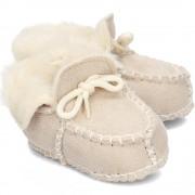 Playshoes Kapcie Dziecięce - 105931 2 - NATUR