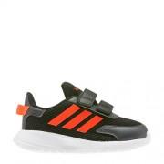 adidas Performance Tensaur Run I hardloopschoenen zwart/rood kids