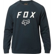 FOX Legacy Crew Fleece Pullover M Blå