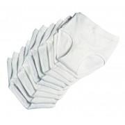 Herren Slips im 10er Pack, Farbe weiß, Gr. 9