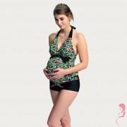 Petit Amour ZwangerschapsTankini Alberta met Bloemen