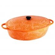 Cratita ceramica Vabene, 1.3 l, 25 cm, capac ceramica