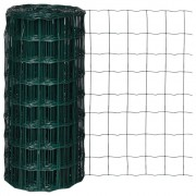 vidaXL Euro Fence 25 x 0.8 m with 100 x 100 mm Mesh