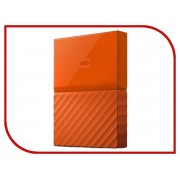 Жесткий диск Western Digital My Passport 2Tb Orange WDBLHR0020BOR-EEUE