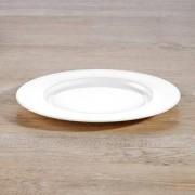 "Bone China ""À-Table"" Dinnerware, Salad/dessert plates, Set of 6"