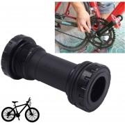 Bicicleta Bb91 Pedalier Shimano Encaja 68-73mm Para Bicicleta De Montaña (negro)