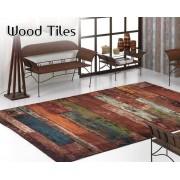 Textil Mora Alfombra Wood Tiles de Textil Mora