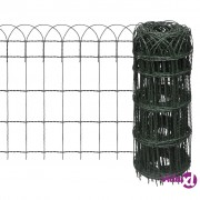 vidaXL Proširiva niska ograda za travnjak, 10 x 0,65 m