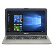 "Asus F541SA Notebook Celeron Dual N3060 1.60Ghz 2GB 500GB 15.6"" WXGA HD IntelHD BT Win 10 Home"