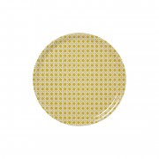 Solhem Wien 1900 bricka ø38 cm gul, bengt & lotta