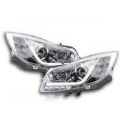 FK-Automotive feux de jour phare avant lumiere du jour Opel Insignia année 08-13 chrome