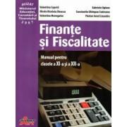 Finante si fiscalitate manual pentru clasa a XI-a si a XII-a