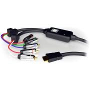 Cavo Convertitore da HDMI a Component (YPbPr) con Audio, Nero
