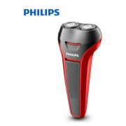 Afeitadora eléctrica Philips S108 rotativa recargable para lavar el cuerpo con cómodas cabezas flotantes independientes de afeitar para maquinilla de afeitar para hombre(Philips S108)