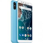"""Xiaomi Smartphone Xiaomi Mi A2 5.99""""Fhd+ Oc 4gb/64gb 4g-Lte 20/12+20mpx A8.1 Blue"""