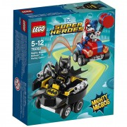 Lego super heroes 76092 mighty micros: batman contro harley quinn