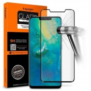 Spigen Glas.tR Curved Huawei Mate 20 Pro Screen Protector - Black