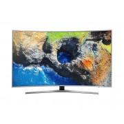 "Samsung Tv 55"" Samsung Ue55mu6500 Led Serie 6 Curvo 4k Ultra Hd Smart Wifi 1600 Pqi Hdmi Usb Refurbished Argento / Inox"