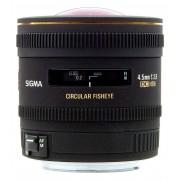 Sigma 4.5mm f/2.8 EX DC ojo de pez circular para canon