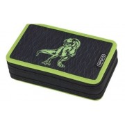 Herlitz tolltartó emeletes - Green Dino