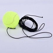 Tradico® Rubber Woolen Tennis Balls Trainer Tennis Ball with String V5