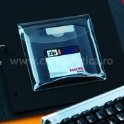 Buzunar autoadeziv cu clapa pentru CD/DVD, 12,6x12.6cm, 6 buc./set, Probeco