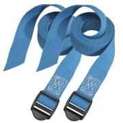 Set 2 ks upínací popruhy Master Lock 3005EURDATCOL - modrý - 180cm