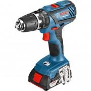 Maşină de găurit cu percuţie Bosch Professional GSB 18-2-LI Plus, 18 V, 1900 rpm, Albastru, 06019E7120