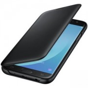 Калъф Samsung J730 Wallet Cover Black, EF-WJ730CBEGWW
