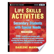 Life Skills Activities for Secondary Students with Special Needs (Mannix Darlene)(Paperback) (9780470259399)