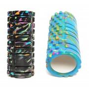 Foam Roller Camuflado 34 cm Antideslizante
