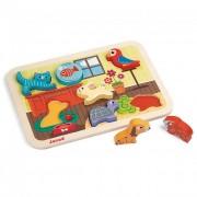 3D puzzle-háziállat Janod