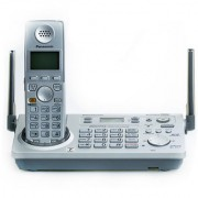 Panasonic KX-TG5771BX cordless phone with base dialing answering intercom Refurbished