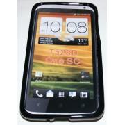 Силиконов гръб ТПУ за HTC One SC Черен