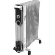Radiator cu ulei ZASS ZR13SL 2500W 3 trepte de putere termostat reglabil Alb