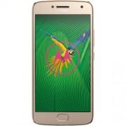 Telefon Mobil Motorola Moto G5, 16GB Flash, 3GB RAM, Dual SIM, 4G, Gold
