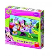 PUZZLE DE PODEA - MINNIE SI DAISY (24 PIESE) (350045)