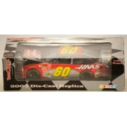 2003 - Team Caliber Pit Stop/NASCAR - Brian Vickers #60 - Chevrolet Monte Carlo - HAAS/GMAC - 1:24 Scale Diecast Metal - Limited Edition - Collectible