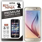 Real Ninja Tempered Glass Screen Protector for Samsung S6