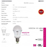 LAMPADINA LED - DIMMERABILE - 9W=75W LUCE BIANCO CALDO