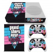Xbox One S Skin Estampa Pegatina - GTA Vice City