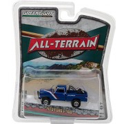 New 1:64 GREENLIGHT ALL-TERRAIN SERIES 5 COLLECTION - BLUE 1970 FORD F-100 Diecast Model Car By Greenlight