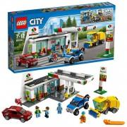 60132 Lego City Benzinestation