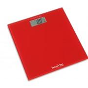 Кантар за измерване на телесно тегло INNOLIVING INN-107R червен