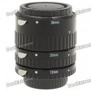 MEIKE MK-N-AF1-A Set de tubo de extension macro de enfoque automatico para Nikon DSLR