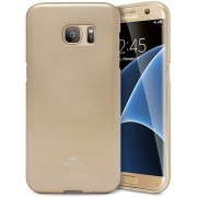 Mercury Pouzdro / kryt pro Samsung Galaxy S7 EDGE - Mercury, Jelly Gold