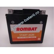 Baterie moto, scuter, atv Rombat 12V 4Ah 40A, AGM Gel RBX5L-BS