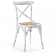 Kave Home Cadeira Alsie branco