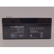 Sunlight 12V 3.3Ah baterie AGM VRLA SPA 12 - 3.3