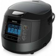 Multicooker Philips HD474970 1070W 5L 22 Programe automate Negru